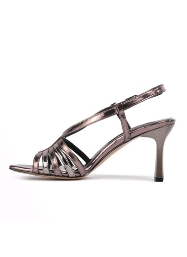 Pierre Cardin Pierre Cardin 51044 Rose Kadın Topuklu Ayakkabı Gümüş